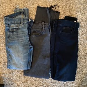 3pcs GAP jean Bundle size 27/4